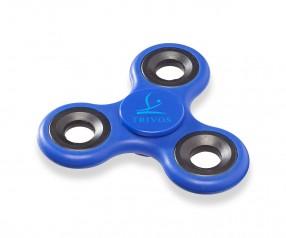 Fidget Spinner Tri-Twist Werbeartikel blau