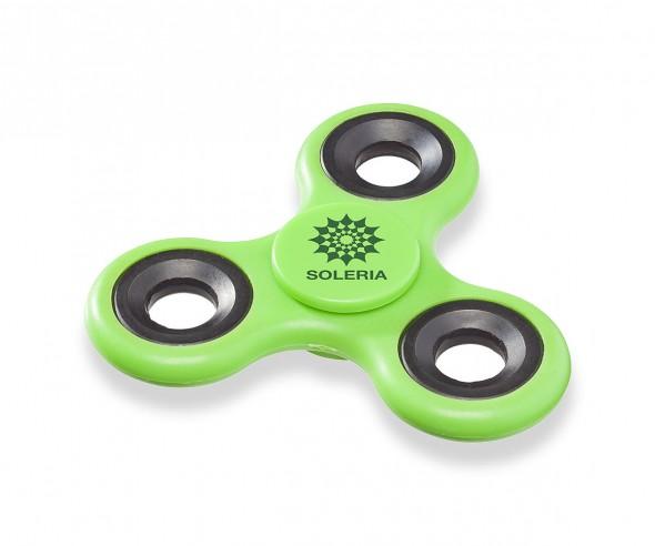 Fidget Spinner Tri-Twist Gadget Giveaway grün