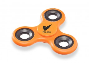 Fidget Spinner bedrucken lassen Tri-Twist orange