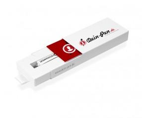 oPENair one, Premium-Funktionsverpackung für einen Kugelschreiber, 4c bedruckt
