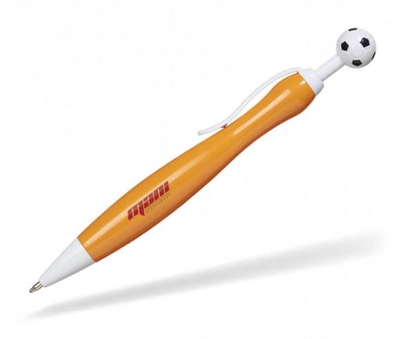 Fußball Kugelschreiber mit Ihrem Logo - orange 10710205