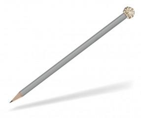 Reidinger Glamour Bleistift grau Glitzerkugel gold weiss