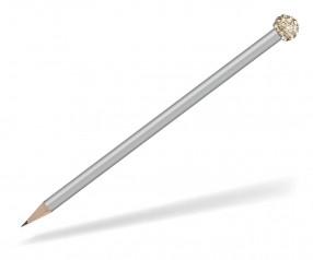 Reidinger Glamour Bleistift silber Glitzerkugel gold weiss