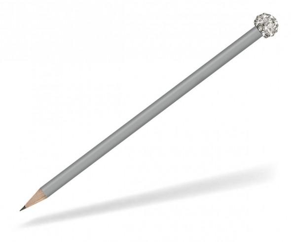 Reidinger Glamour Bleistift grau Glitzerkugel silber weiss