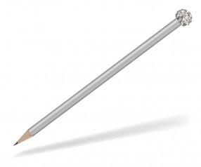 Reidinger Glamour Bleistift silber Glitzerkugel silber weiss