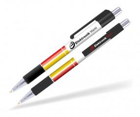 Goldstar Astaire Chrome Kugelschreiber mit Grip Pantone black schwarz PGR