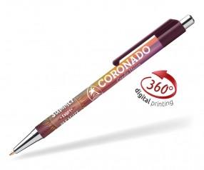 Goldstar Astaire Chrome Kugelschreiber CLA Bordeaux (PMS 2322)