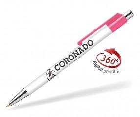 Goldstar Astaire Chrome Kugelschreiber CLA Pink (PMS 7424)