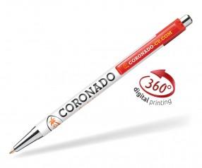 Goldstar Astaire Chrome Kugelschreiber CLA Rot (PMS 1795)