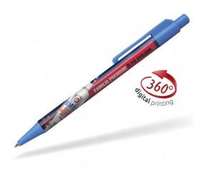 Goldstar Astaire CLX 360 Grad Rundumdruck Kugelschreiber Pantone 2172 Blau