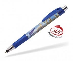 Goldstar Flynn CND 360 Grad Rundumdruck Kugelschreiber Pantone 2147 Blau