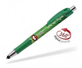Goldstar Flynn CND 360 Grad Rundumdruck Kugelschreiber Pantone 355 Grün