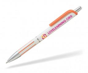 Goldstar Elton ABE Kunststoff Kugelschreiber Pantone 021 Orange