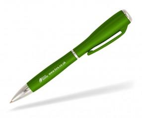 Goldstar J Brown LZC Kugelschreiber mit Licht Pantone 2423 Grün