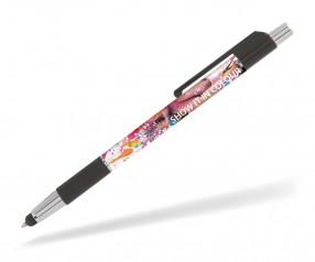 Goldstar De Niro Touchpen PGF 360 Grad Rundumdruck Kugelschreiber Pantone black schwarz
