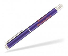 Goldstar Kelly PMU Kappenkugelschreiber Pantone 2685 Violett