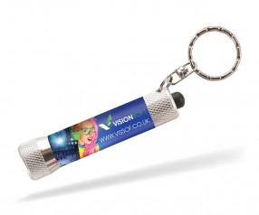 Taschenlampe inklusive Digitaldruck 360° rundum vollfarbig Folientransfer - Goldstar NEWMAN FKP