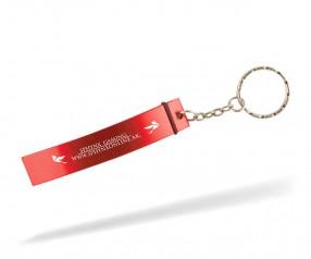 Flaschenöffner Schlüsselanhänger Werbeartikel Goldstar CRUISE lcm INKL GRAVUR rot 200c