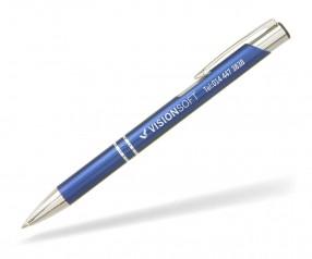 Goldstar Sinatra Kugelschreiber MATT LDE incl Gravur Pantone 302 dunkelblau
