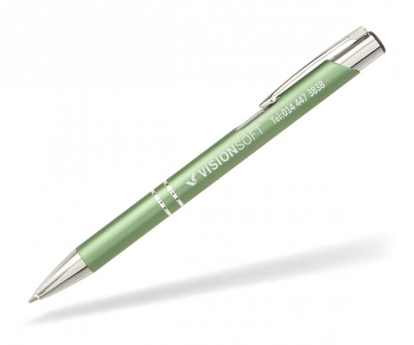 Goldstar Sinatra Kugelschreiber MATT LDE incl Gravur Pantone 2264 grün