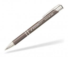 Goldstar Sinatra Kugelschreiber MATT LDE incl Gravur Pantone 2336 anthrazit