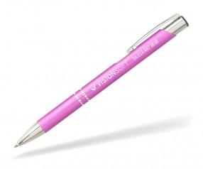 Goldstar Crosby Kugelschreiber MATT LJK incl Gravur Pantone 2060 rosa