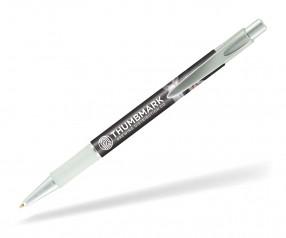 Goldstar Le Beau PWG Metallic Kugelschreiber mit Grip Pantone Silber