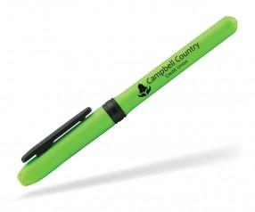Goldstar LEDGER PYZ Textmarker Leuchtstift Highlighter grün