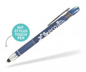 Goldstar Olivier LHS stylus touchpen incl Gravur Pantone 302 dunkelblau
