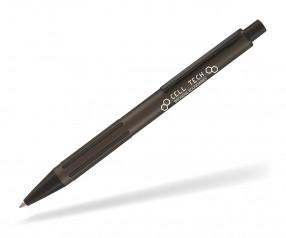 Goldstar Dietrich LJX Kugelschreiber inkl Gravur mit ergonomischer Griffzone anthrazit
