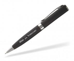 Goldstar Lennon LNB Soft Touch Kugelschreiber Werbegeschenk incl Gravur schwarz