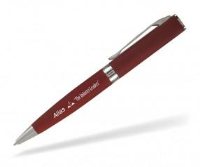 Goldstar Lennon LNB Soft Touch Kugelschreiber Werbegeschenk incl Gravur rot