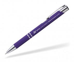 Goldstar Crosby LJL Soft Touch Kugelschreiber incl Gravur Pantone 267 violett