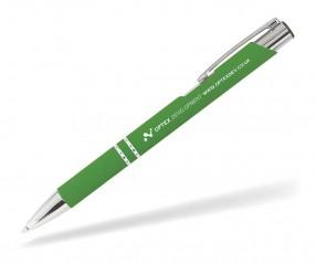 Goldstar Crosby LJQ Soft Touch Kugelschreiber incl Gravur Pantone 7737 apfelgrün