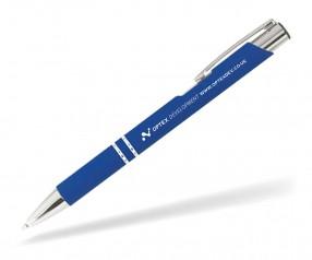 Goldstar Crosby LJQ Soft Touch Kugelschreiber incl Gravur Pantone 2146 blau