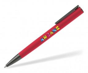 Goldstar Jagger Gunmetal Kugelschreiber Kugelschreiber MPT Rot (PMS 199)