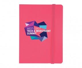 Goldstar Joyce Hell Soft-Touch Notizbuch NMG Pink (PMS 191)