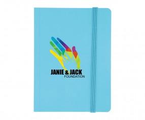 Goldstar Joyce Hell Soft-Touch Notizbuch NMG Türkis (PMS 2985)