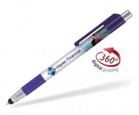Goldstar Astaire PGG 360 Grad Rundumdruck Kugelschreiber Violett (PMS 7680)
