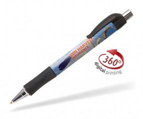 Goldstar Garland PGW 360 Grad Rundumdruck Kugelschreiber Pantone black schwarz