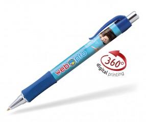 Goldstar Hepburn Chrome Kugelschreiber PHG Dunkelblau (PMS 7687)