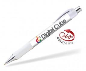 Goldstar Hepburn Chrome Kugelschreiber PHG Weiß
