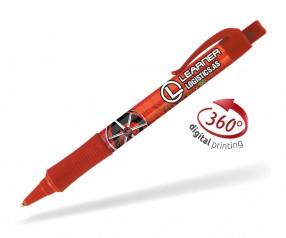 Goldstar Hepburn PHT inkl 360 Grad Druck Kugelschreiber Pantone 7626 Rot