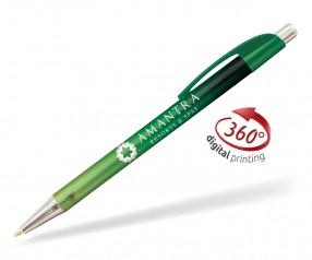 Goldstar Le Beau Ombre Kugelschreiber PWH inkl 360 Grad Druck Pantone 2258 Grün