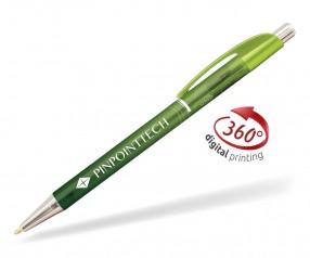 Goldstar Le Beau Ombre Kugelschreiber PWH inkl 360 Grad Druck Pantone 2300 Lemonengrün