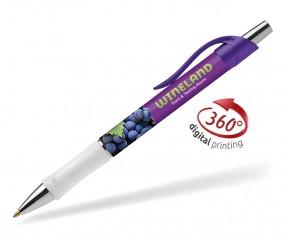 Goldstar Bravo Metallic Kugelschreiber PWK Violett (PMS 2091)