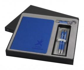 Goldstar Three Amigos Soft Touch DVA Geschenkeset Pantone Blau