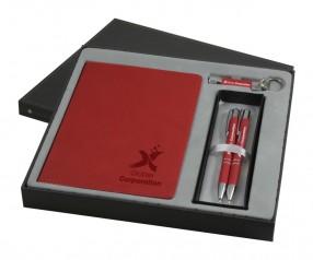 Goldstar Three Amigos Soft Touch DVA Geschenkeset Pantone Rot