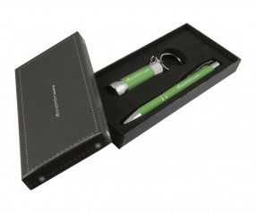 Goldstar Crosby & McQueen DLX Soft Touch Geschenk Set Pantone 7737 Grün