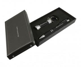 Goldstar Crosby & McQueen DLX Soft Touch Geschenk Set Pantone Black Schwarz